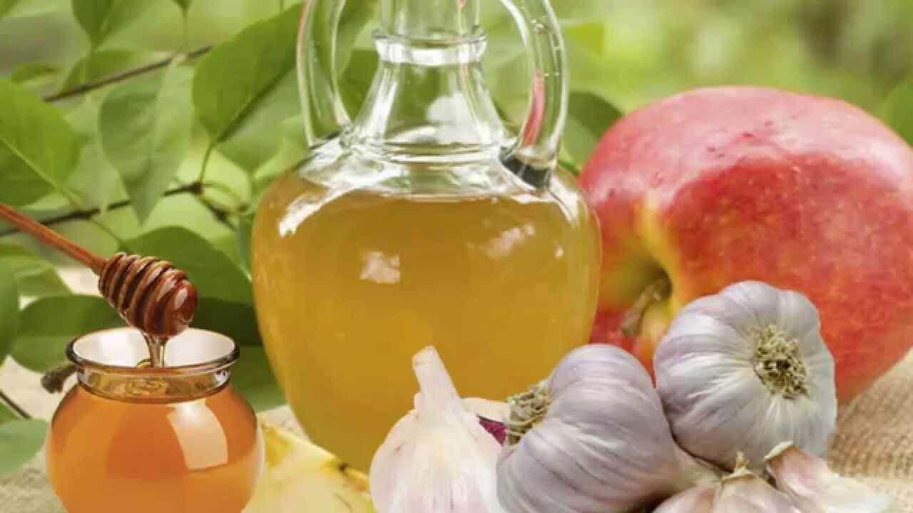 Antibiotikabehandlingar med vitlök och honung
