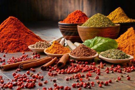 Använd mer kryddor för att göra måltider nyttigare
