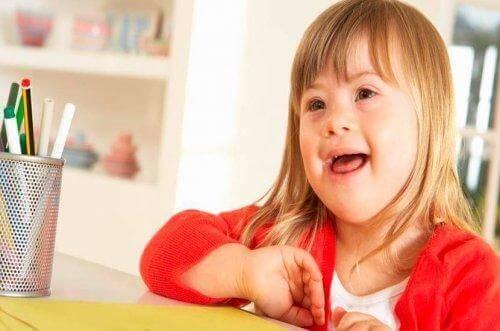 Att uppfostra barn med downs syndrom