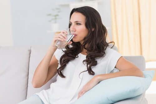 Vatten kan förebygga cystit efter sex