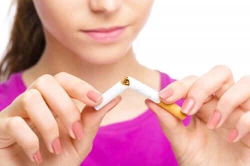Positiva förändringar när man slutar röka