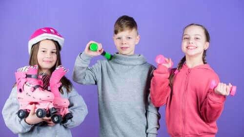 Fritidsaktiviteter för barn som inte nått tonåren