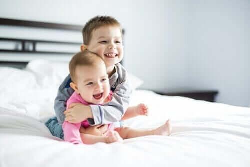 Pojke kramar syskon