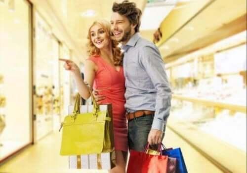 Shoppande par