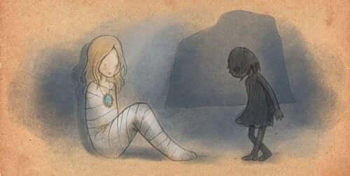 Vuxna som misshandlades som barn