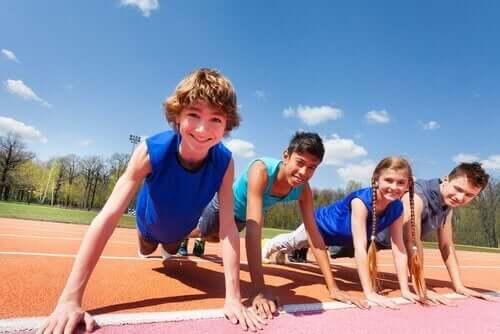 Barnen som överbelastas med sporter