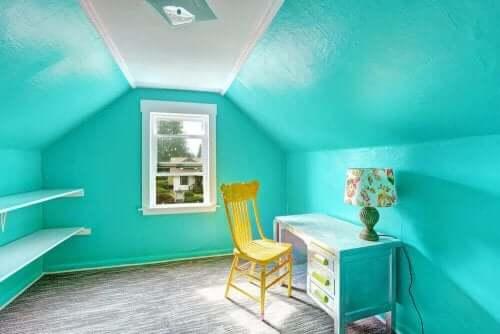 Färgerna i ditt barns sovrum