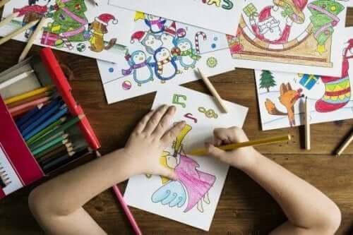 Åtta fördelar med att rita för barn