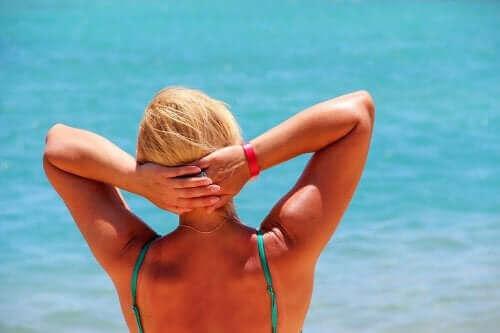 Fyra naturliga kurer för värmeutmattning