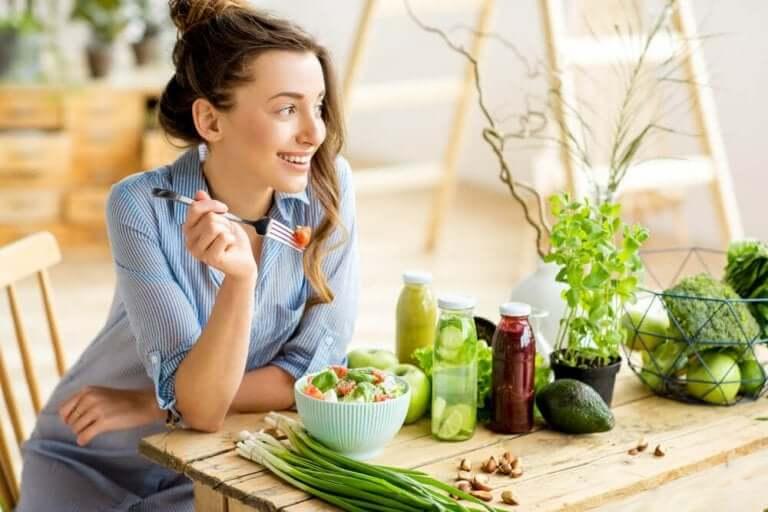 En vegetarisk kost behöver inte ha mindre näring