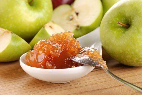 Recept marmelad med äpple utan tillsatt socker