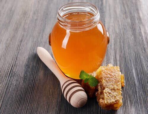 Naturlig honung för brännskador