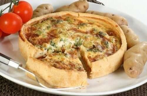 Gör denna utsökta quiche med grönsaker och ost