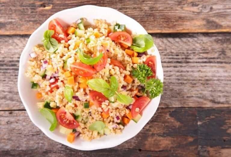 Quinoa och grönsaker