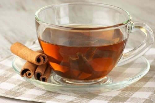 Te på kanel mot mensvärk