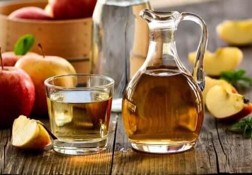 Äppelcidervinäger mot utslag