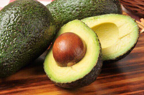 Avokado innehåller omega-3