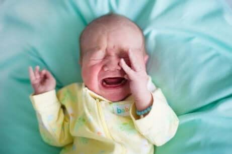 Bebis med förstoppning
