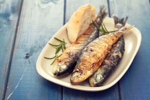 Börja med medelhavskosten genom att äta fisk