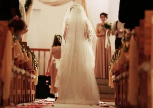 Endast bruden ska bära vitt
