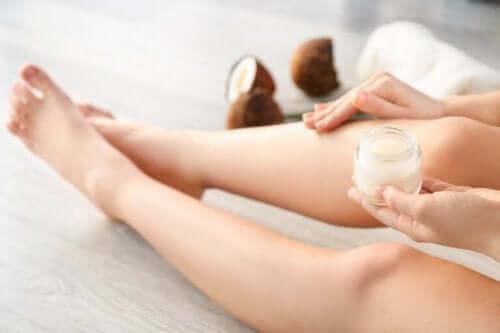 Kosmetiska användningar för kokosnötsvinäger