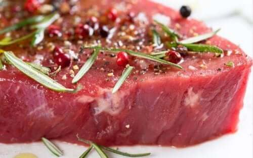 Kryddat kött