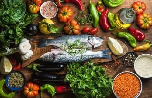 Livsmedel i medelhavskosten