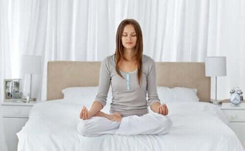 Meditation för att handskas med ångest