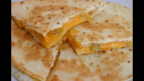 Quesadillas med mango