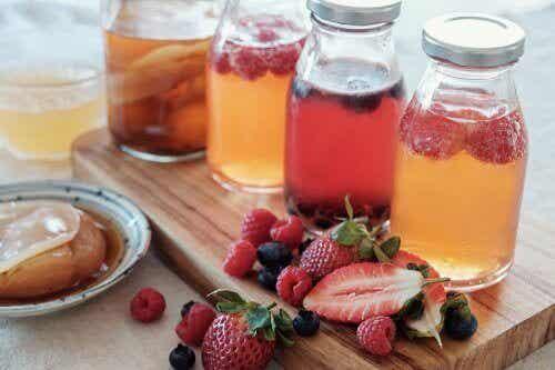 Fem enkla recept på fruktinfusioner