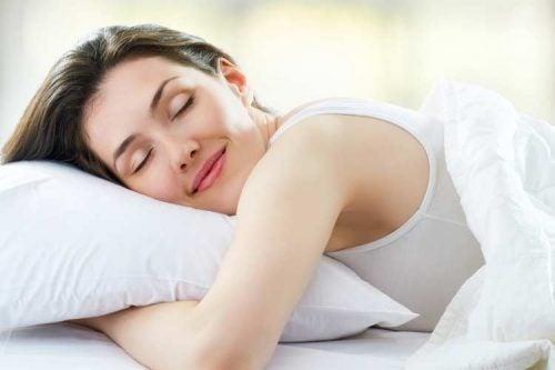 Sömn är viktigt för hudhälsan