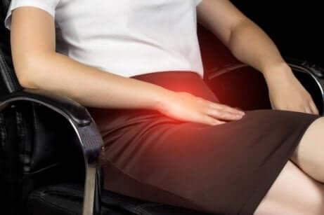 Symptom på sportbråck