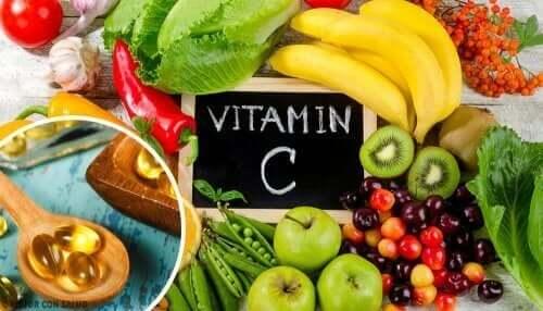 Vitamin C kan lindra utslag