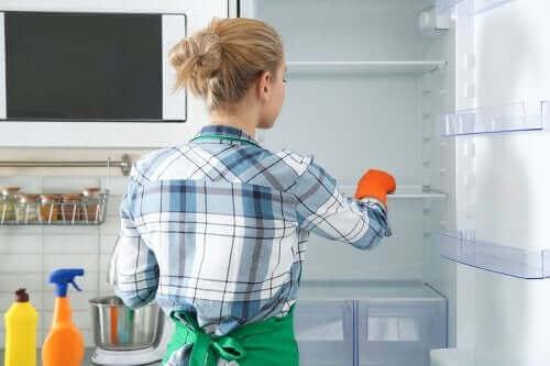 Tips för att rengöra kylskåpet miljövänligt