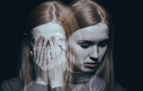 En kvinna med ångest