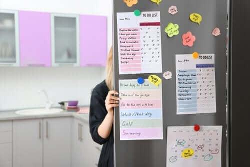 Hur man gör en organiseringstavla för köket
