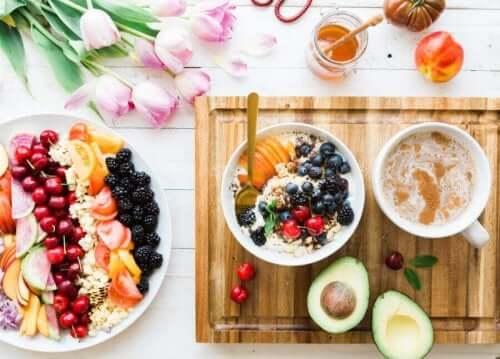 En välbalanserad frukost