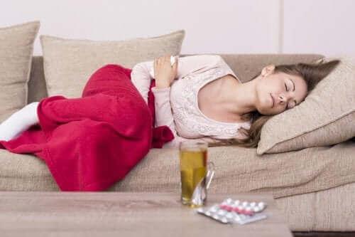 Effektiva och naturliga kurer för mensvärk
