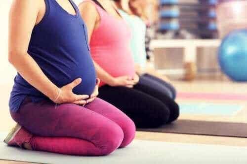 Pilates under graviditeten: är det en bra idé?