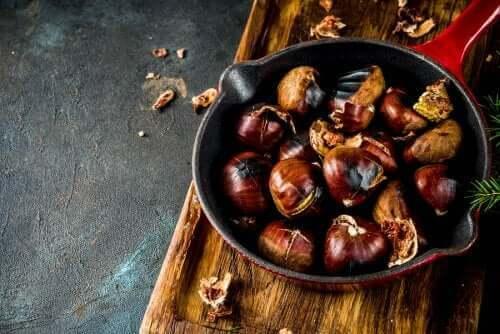 Recept med kastanjer: fyra rätter du kommer älska