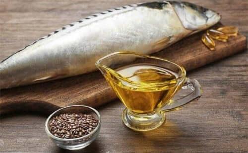 Fisk innehåller fetter din hjärna behöver