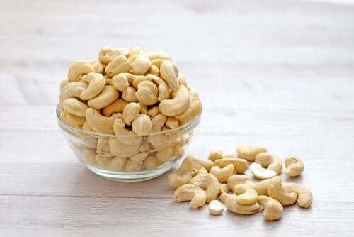 Grädde på cashewnötter