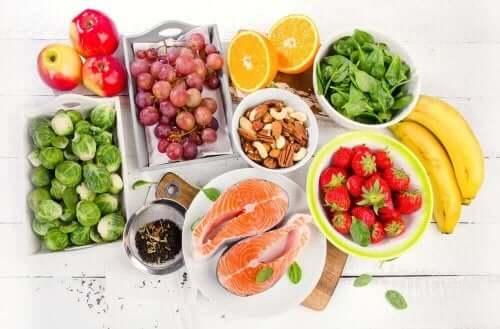 Nyttiga livsmedel i medelhavskosten