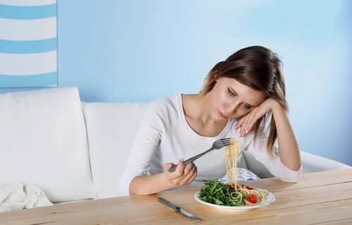 De dolda vanorna hos depression inkluderar ätstörningar