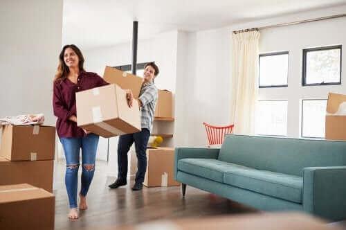 Att flytta som par utan att bli galen