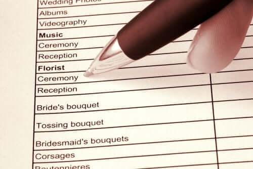 Tips för att organisera ett hastigt bröllop