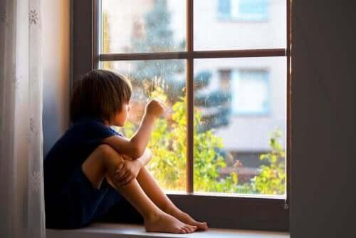 Beteendeförändringar är ett tecken på Psykiska sjukdomar hos barn