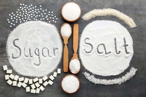 För mycket salt eller socker: vilket är värst för hälsan?
