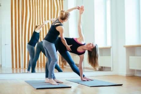 Instruktör i yoga
