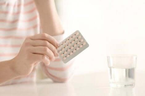 P-piller kan orsaka smärta